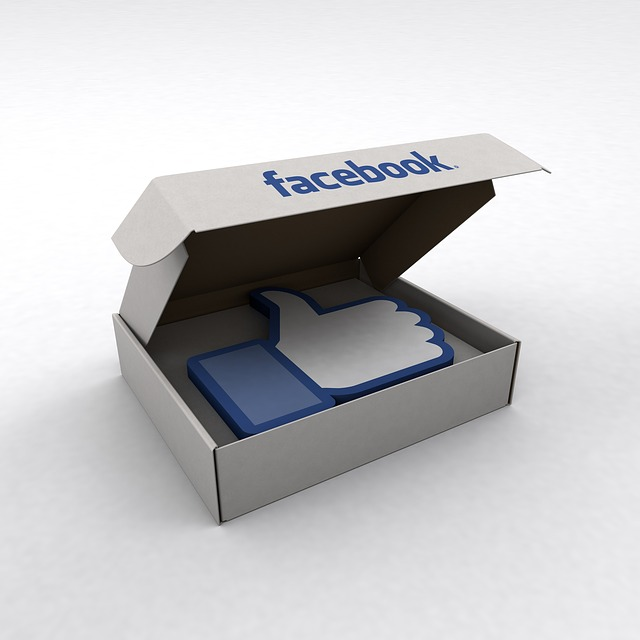 facebook, like, box