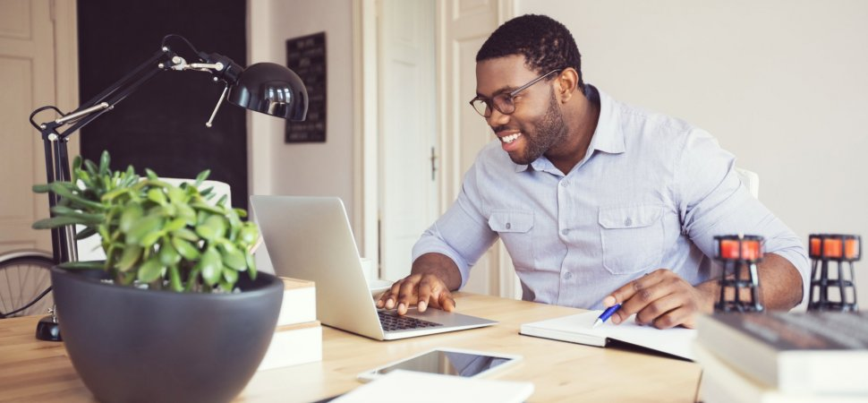 91 Percent of People Who Work at Home Are More Productive Than at