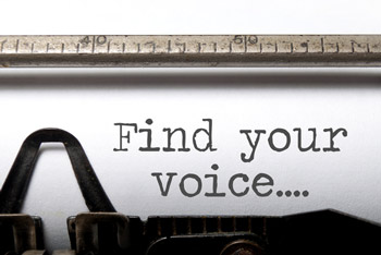 Creative writing finding your voice